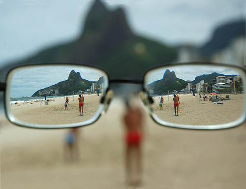 Visión miope